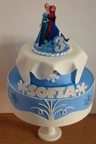 topo de bolo simples