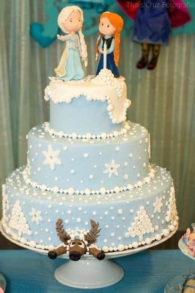 Elsa e Anna de biscuit