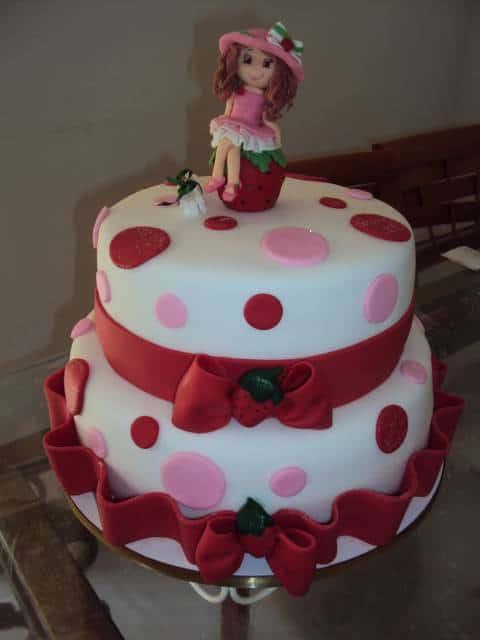 dicas de como decorar bolo Moranguinho