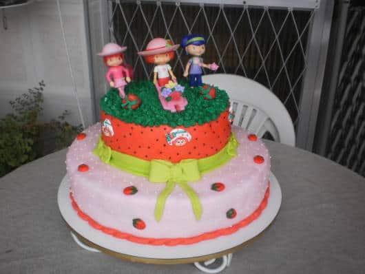 modelos de bolo Moranguinho