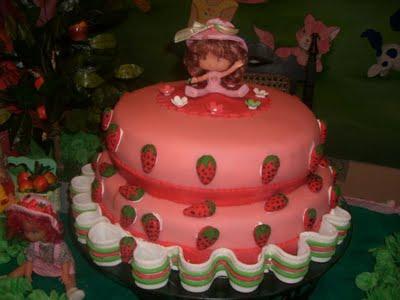 bolo Moranguinho dois andares