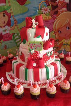 fotos de bolo Moranguinho