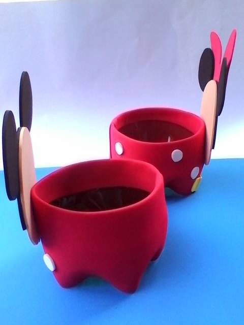 centro-de-mesa-Minnie-passo-a-passo