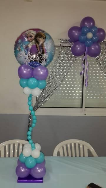 decoração com bexigas