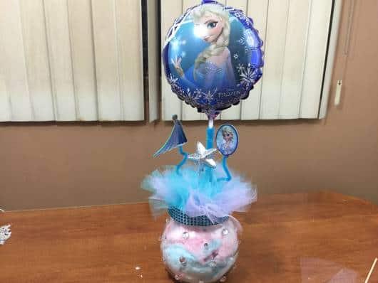 balão com gás hélio