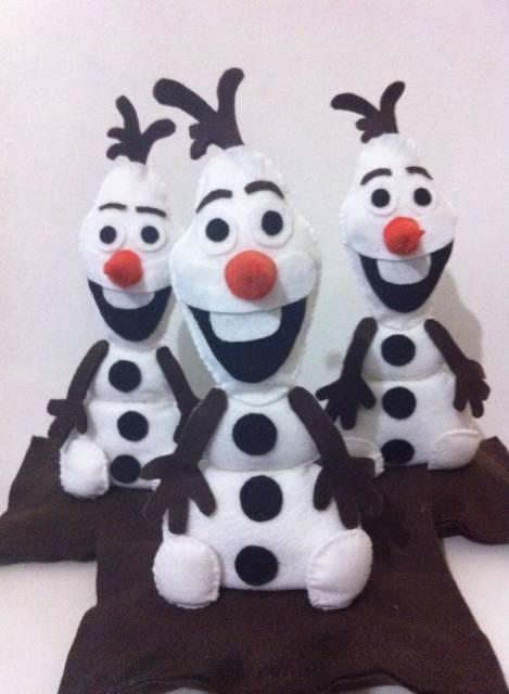 Olaf de feltro