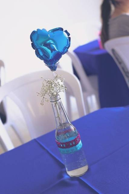 garrafa simples decorada