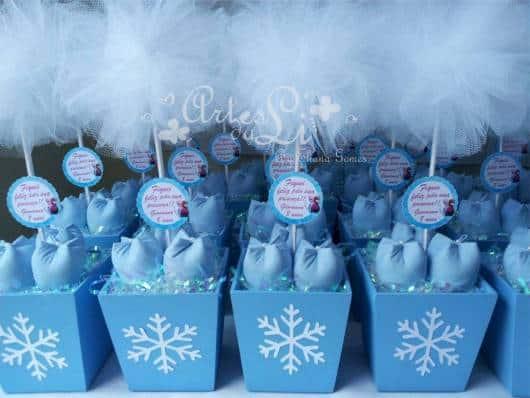 decoração azul e branco