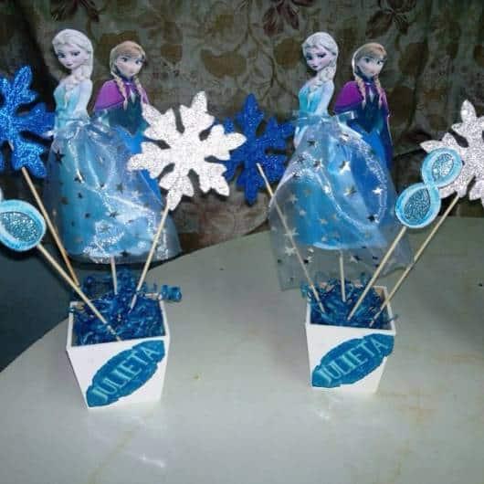 decoração Elsa e Anna