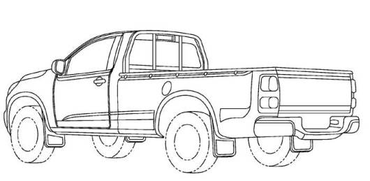 caminhonete em desenhos de carros para colorir