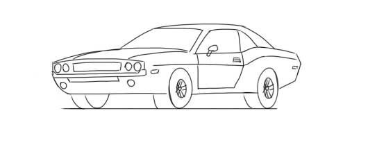 desenhos de carros para colorir carro esportivo