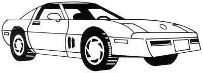 desenhos de carros para colorir esportivos