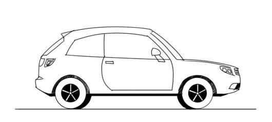Desenhos De Carros Para Colorir 35 Modelos Incriveis