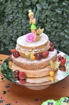 naked cake infantil da sininho