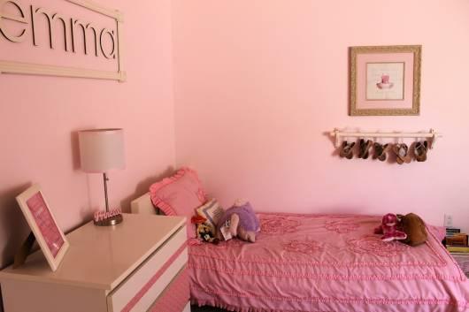 decoração adolescente de quarto de bailarina