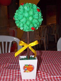 decoração forminha de doce