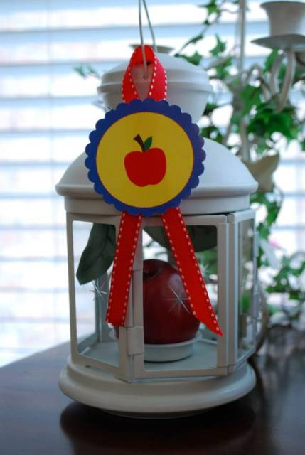 decoração maçã