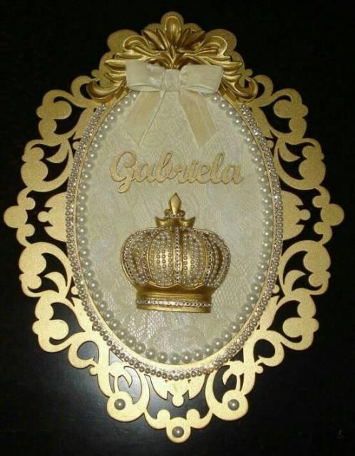 modelo dourado princesa