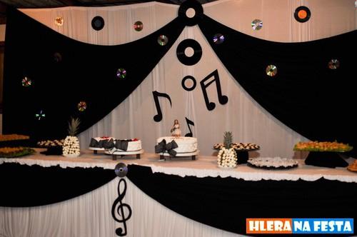 decoração com CD