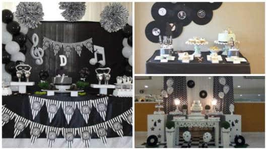 festa preta e branca
