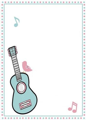 convite música