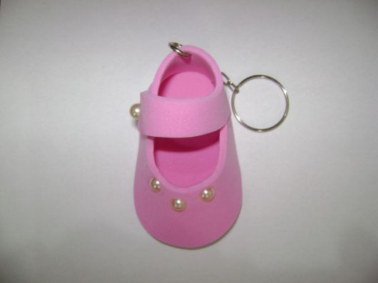 chaveiro rosa