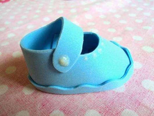 modelo azul simples