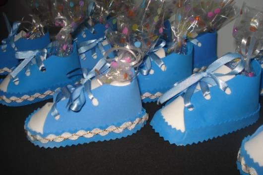 sapatinho azul jujuba