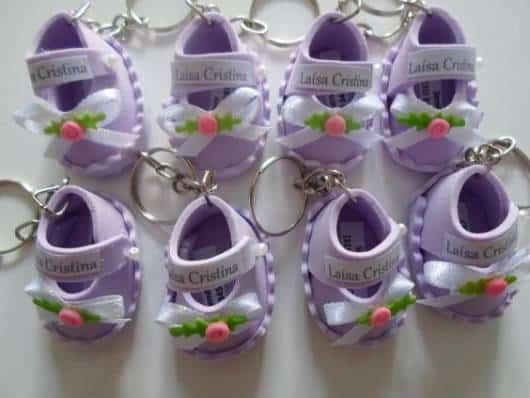sapatinho lilás