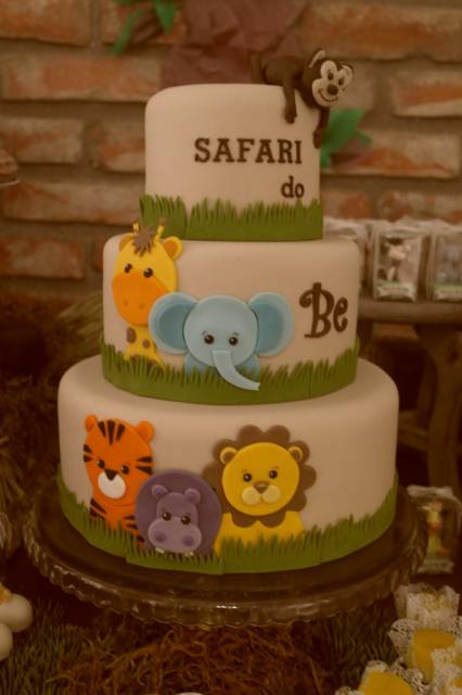 bolo-safari-cha-de-bebe