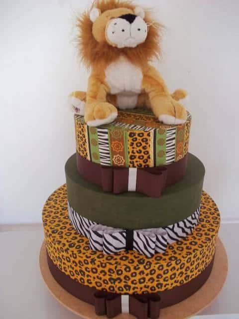bolo-safari-fake-tecido