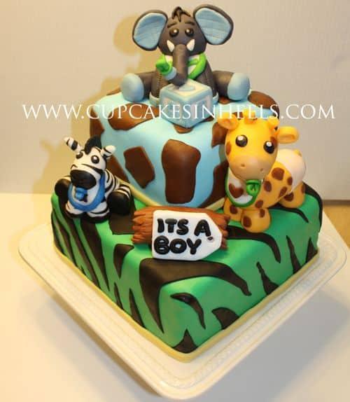 bolo-safari-para-festa-baby