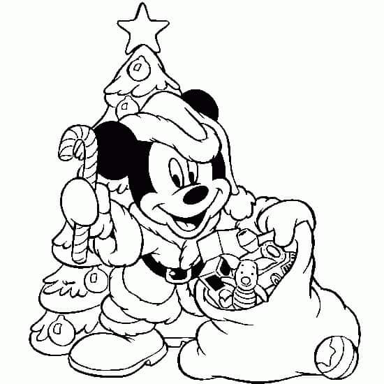 desenho Mickey