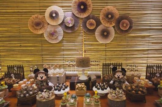 decoração simples Mickey