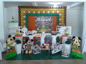 decoração Mickey provençal