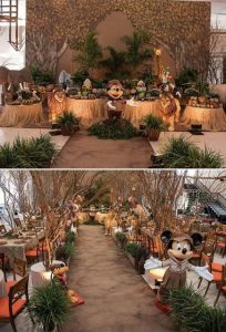 decoração savana