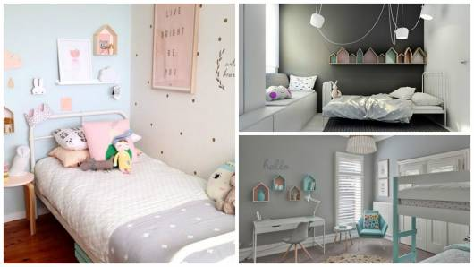 decoração quarto com nichos