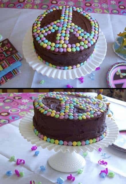 bolo de chocolae