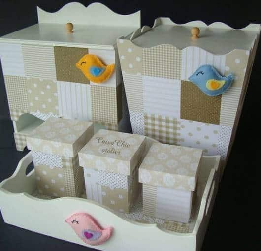 kit passarinhos