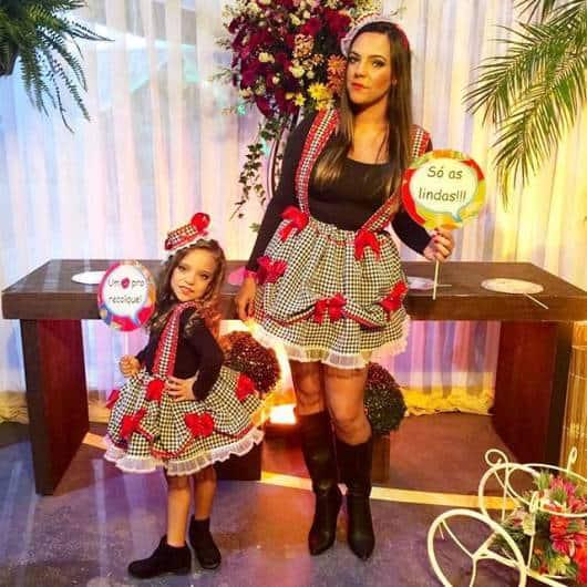 Vestido De Festa Junina Infantil48 Modelos Lindos E