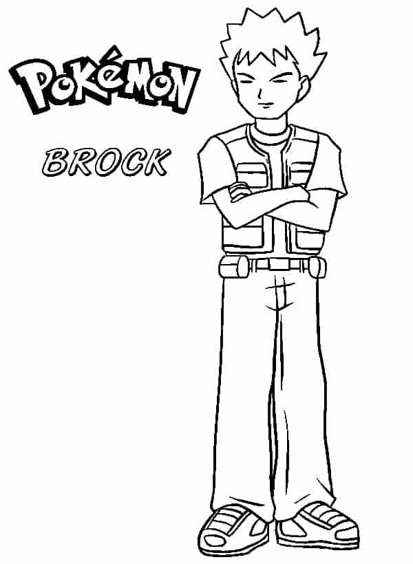 personagem Brock