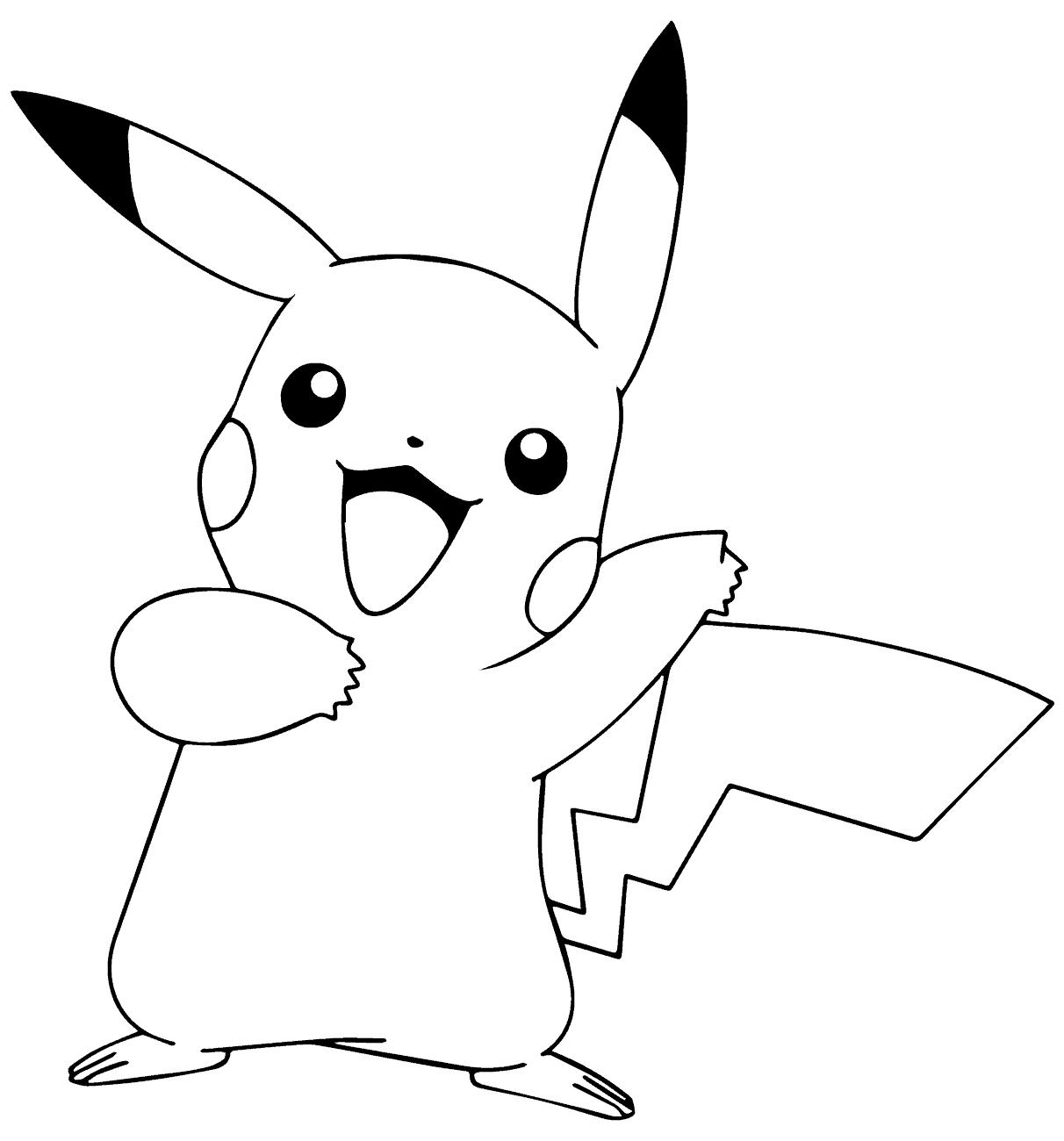 Desenhos Para Colorir Do Pokemon 45 Desenhos Para