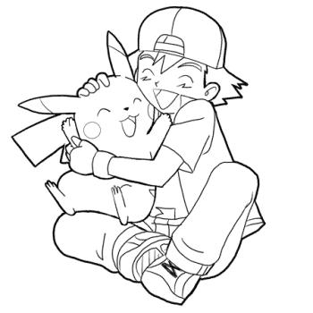 pikachu e ash