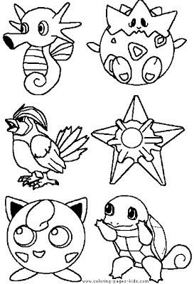desenhos pokémon pintar
