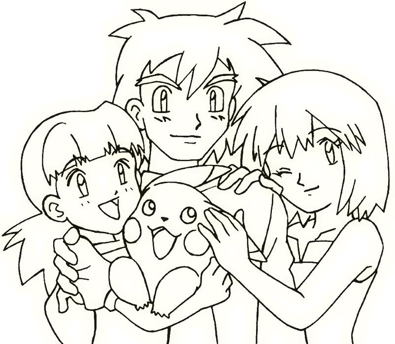 personagens com pikachu