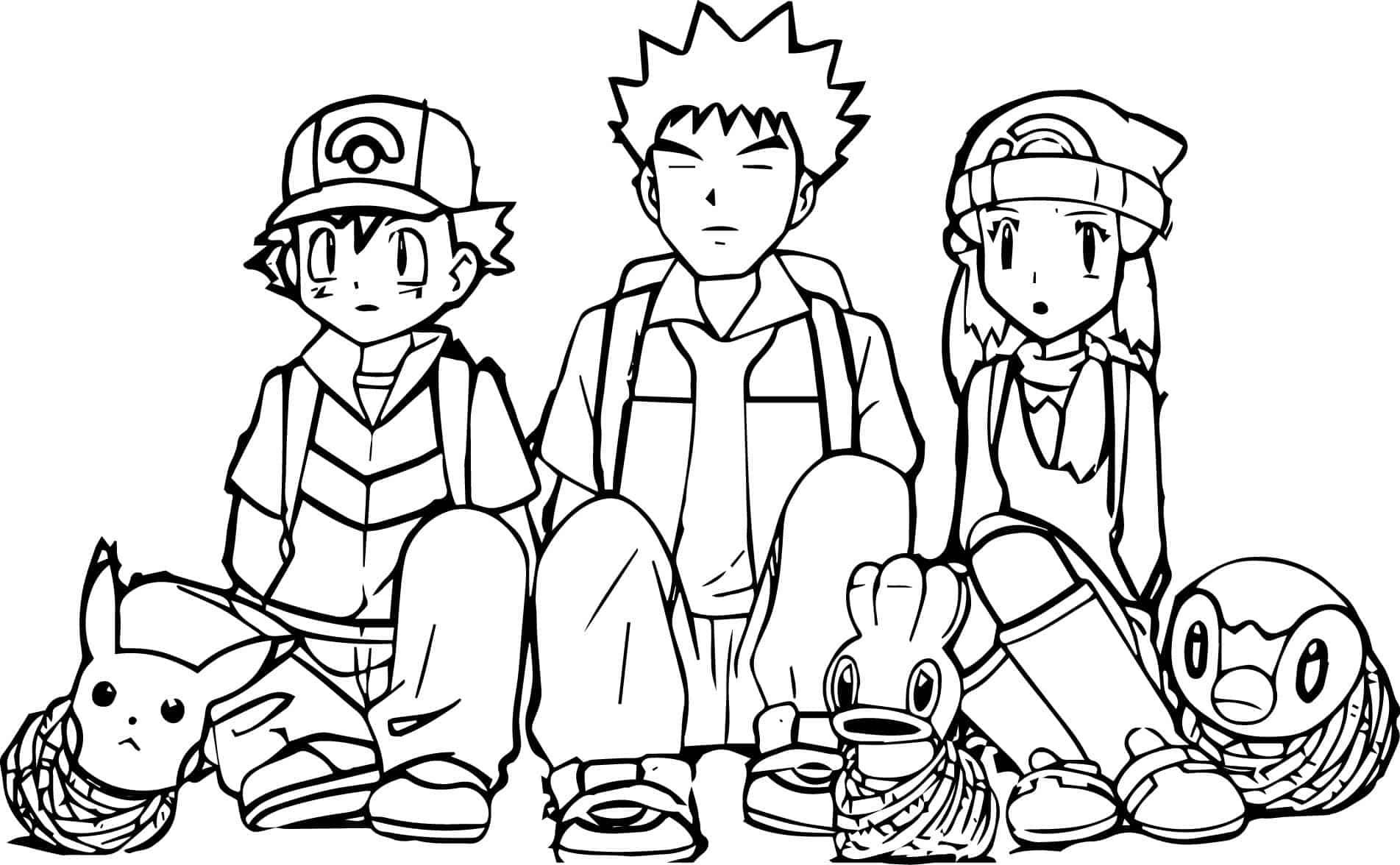 personagens pikachu