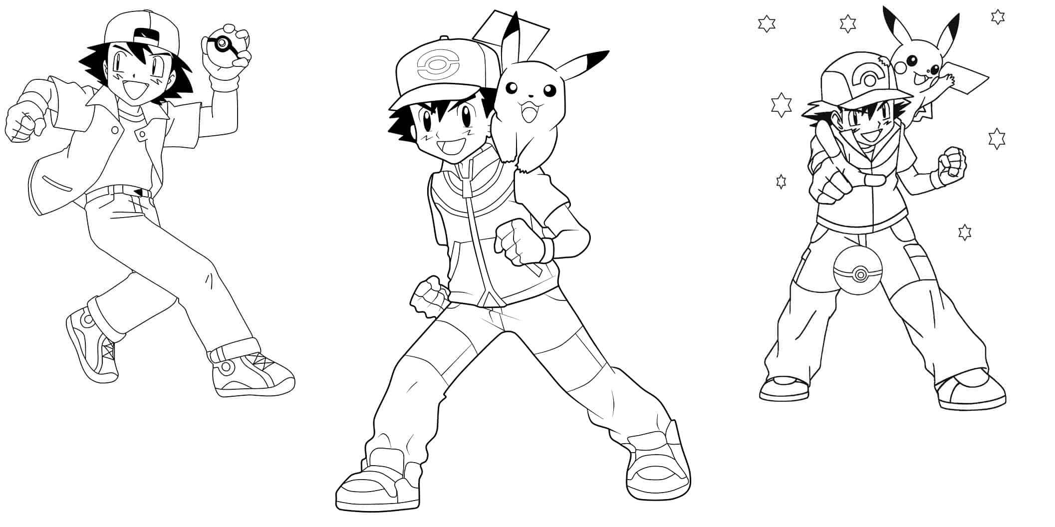 desenhos ash