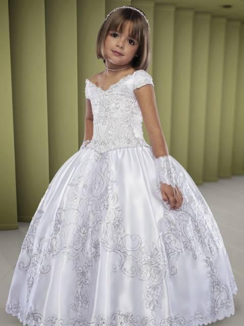 vestido de formatura infantil 1