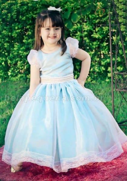 vestido de formatura infantil azil