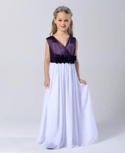 vestido de formatura infantil degrade